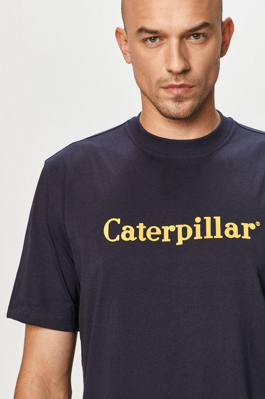 tmavomodrá Caterpillar - Tričko