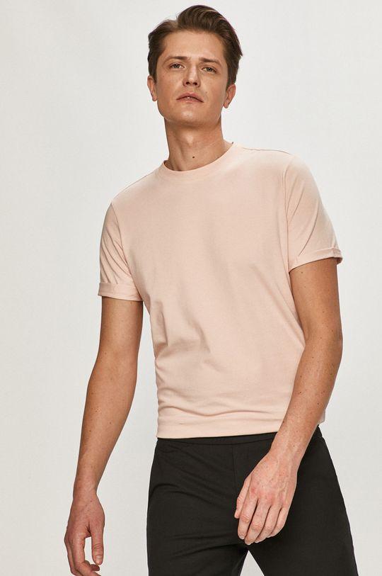 pastelová ružová Premium by Jack&Jones - Tričko