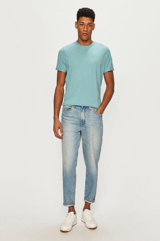Premium by Jack&Jones - T-shirt jasny niebieski