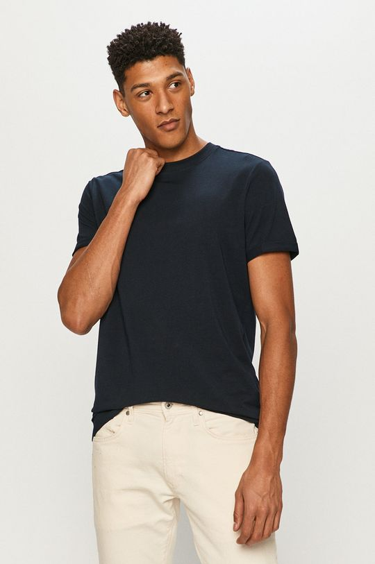 granatowy Premium by Jack&Jones - T-shirt