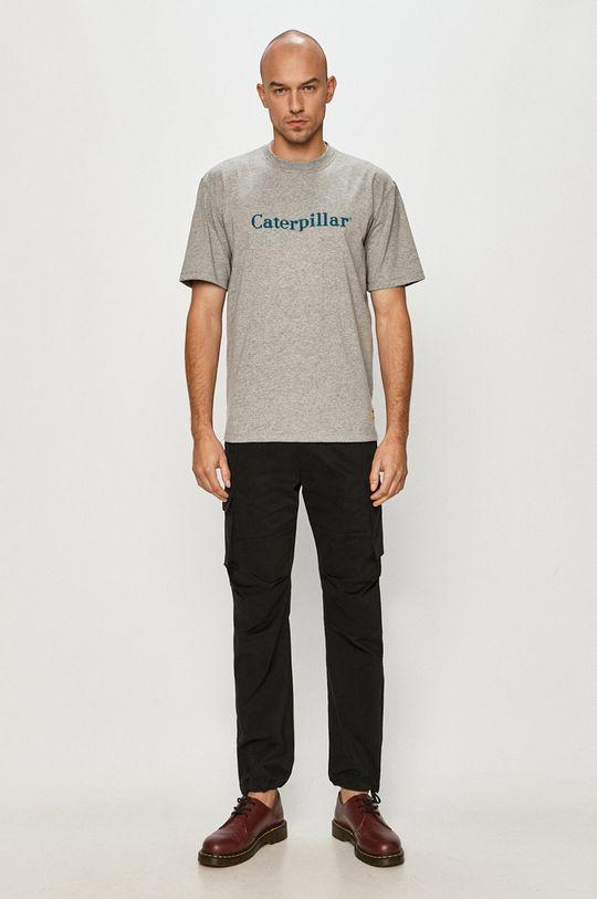 Caterpillar - T-shirt szary