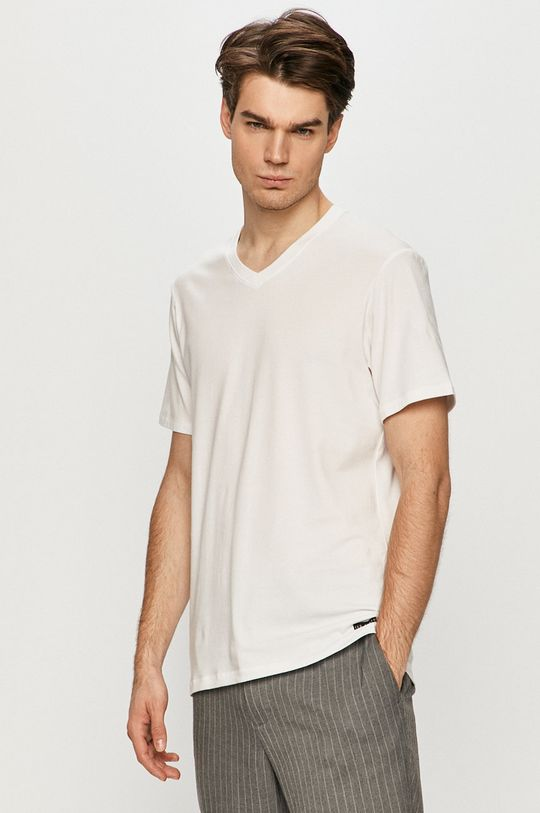 biela Ted Baker - Tričko (3-pak) Pánsky