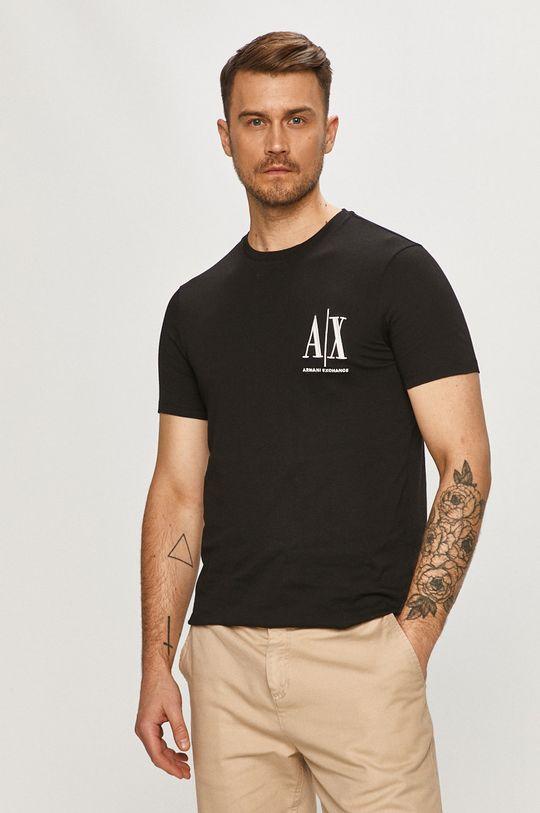čierna Armani Exchange - Tričko