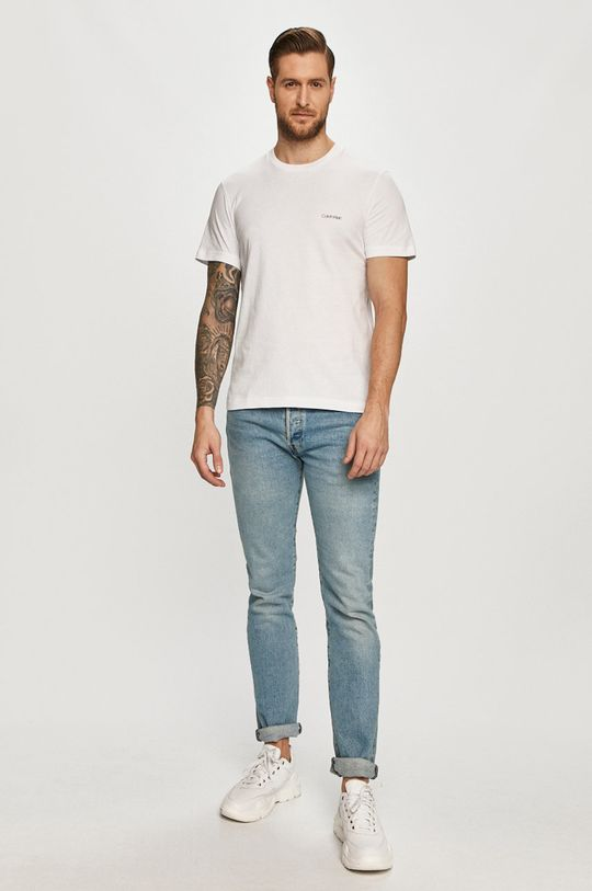Calvin Klein - Tričko biela