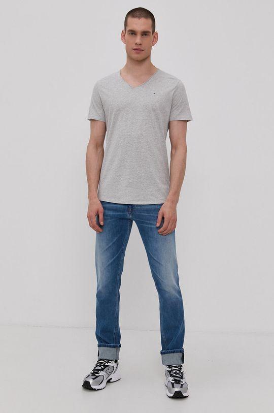 šedá Tommy Jeans - Tričko