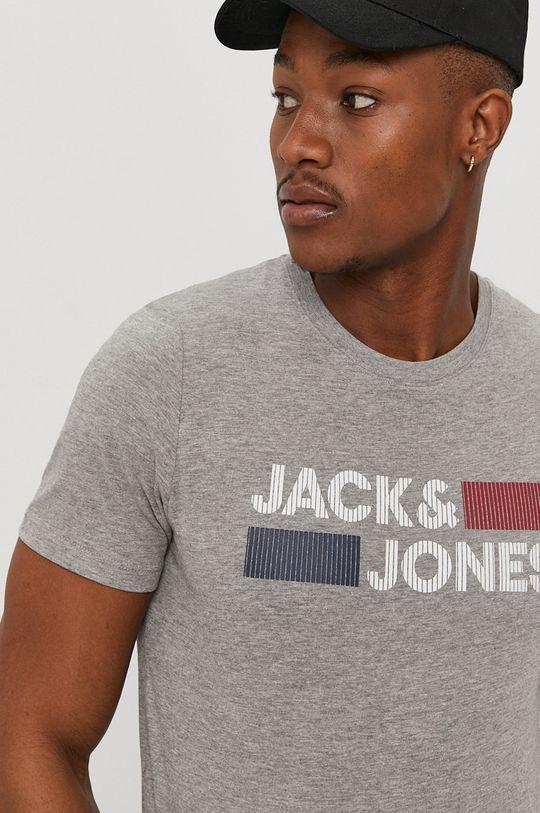 jasny szary Jack & Jones - T-shirt