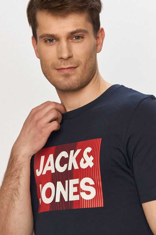 tmavomodrá Jack & Jones - Tričko
