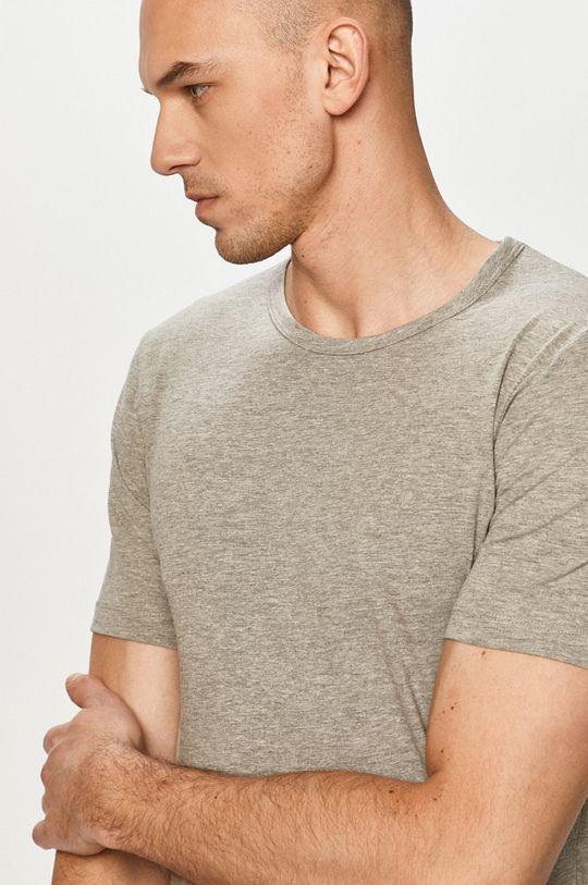 jasny szary Jack & Jones - T-shirt Męski