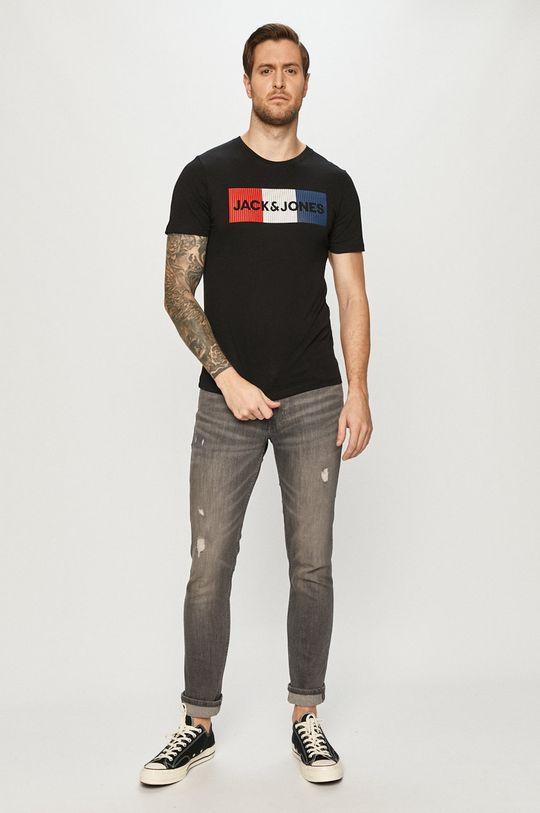 Jack & Jones - T-shirt czarny