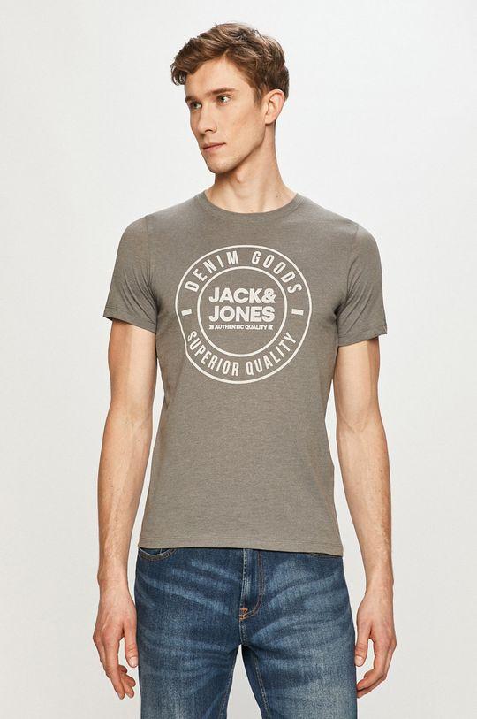 šedá Jack & Jones - Tričko Pánský