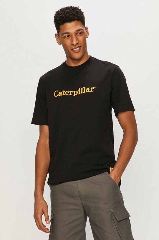 černá Caterpillar - Tričko Pánský
