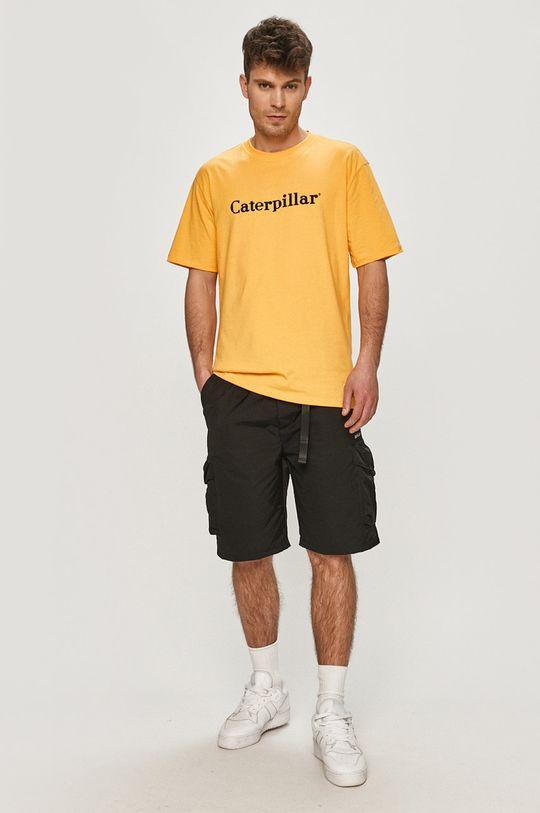 Caterpillar - Tričko oranžová