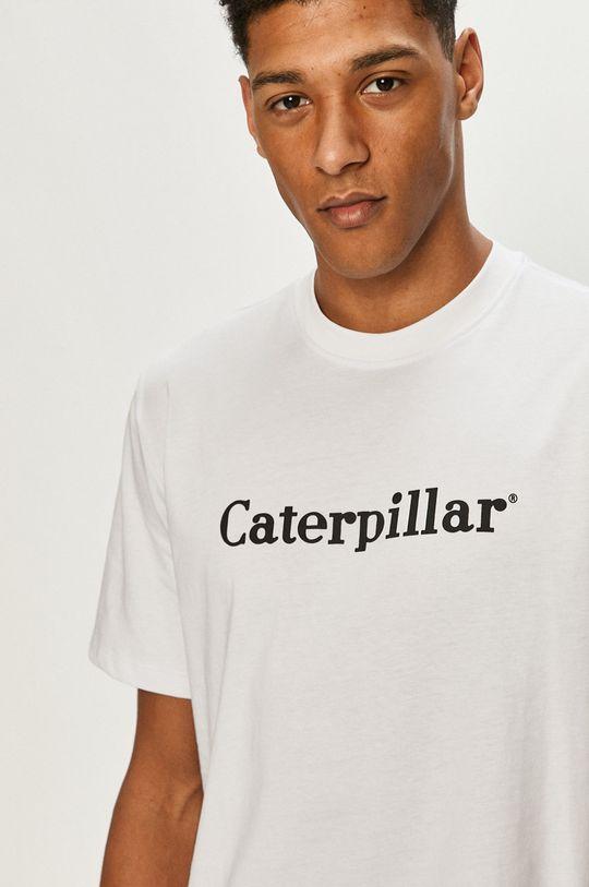 bílá Caterpillar - Tričko