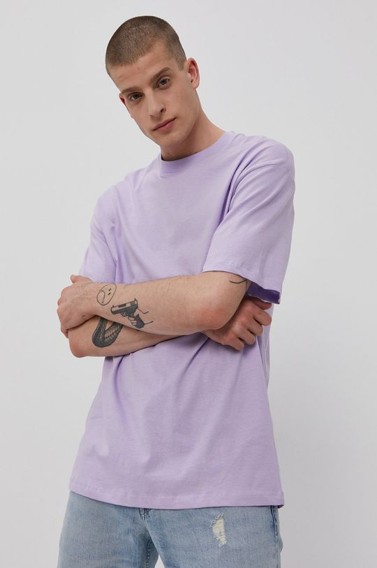 Jack & Jones - Tričko levanduľová