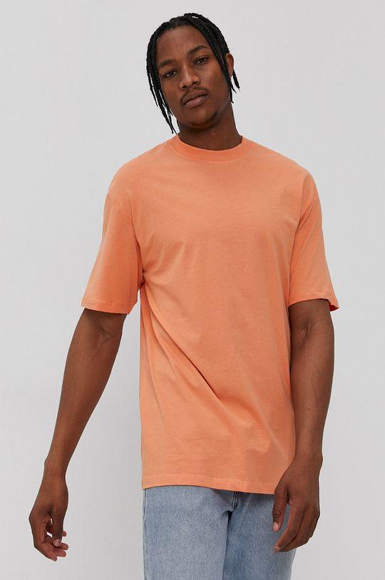 oranžová Jack & Jones - Tričko Pánsky