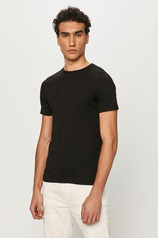 czarny Karl Lagerfeld - T-shirt (2-pack) Męski