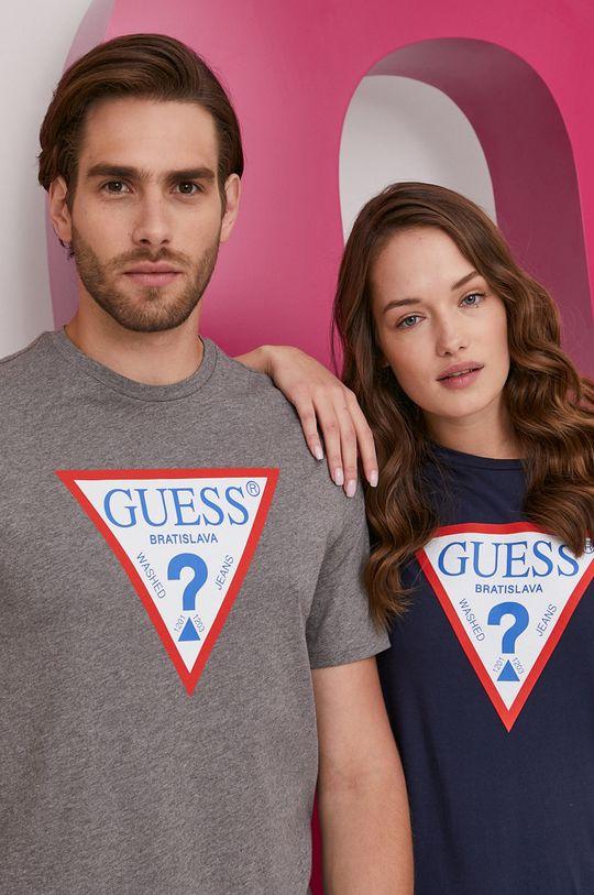 Guess - Tričko z narodeninovej kolekcie Pánsky