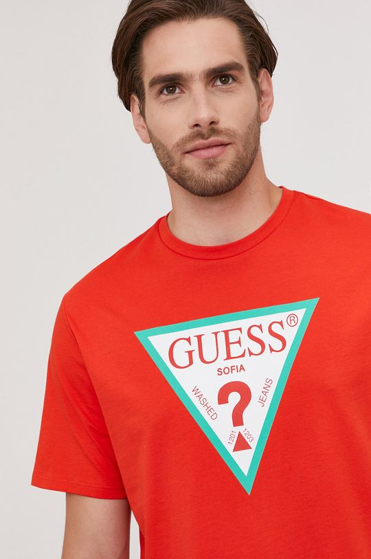 Guess - Tricou din colectia aniversara De bărbați