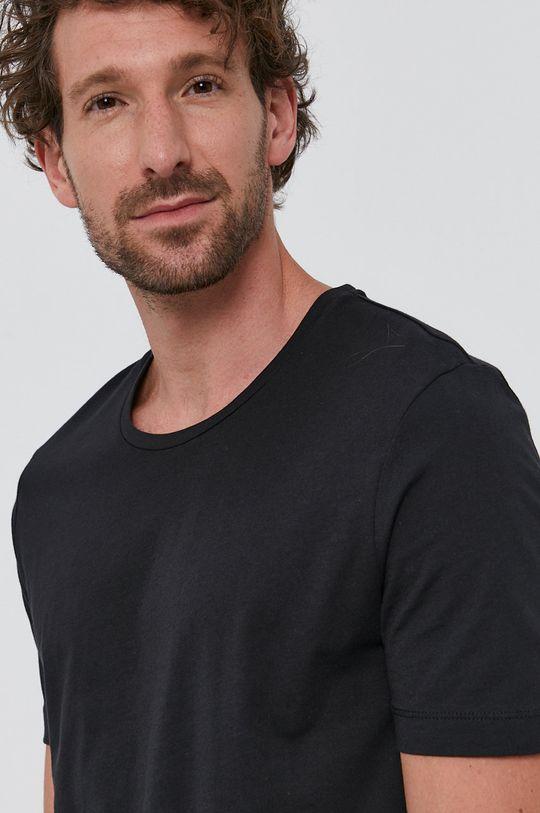 czarny Tiger Of Sweden - T-shirt