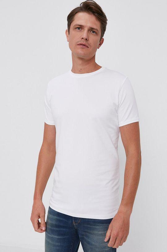 biały Tiger Of Sweden - T-shirt (2-pack)
