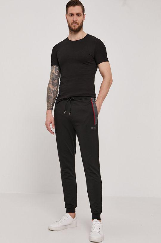 Boss - T-shirt (3-pack) czarny