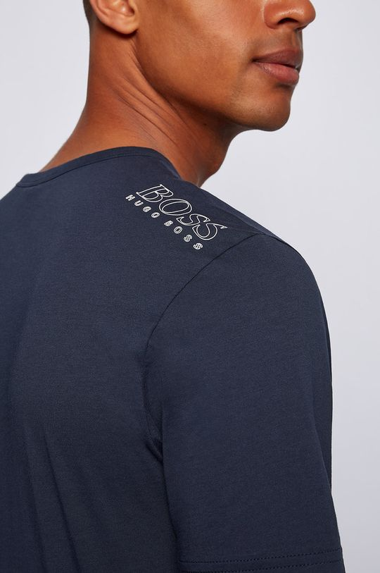 granatowy Boss - T-shirt Boss Athleisure