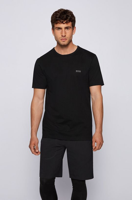 czarny Boss - T-shirt Boss Athleisure Męski
