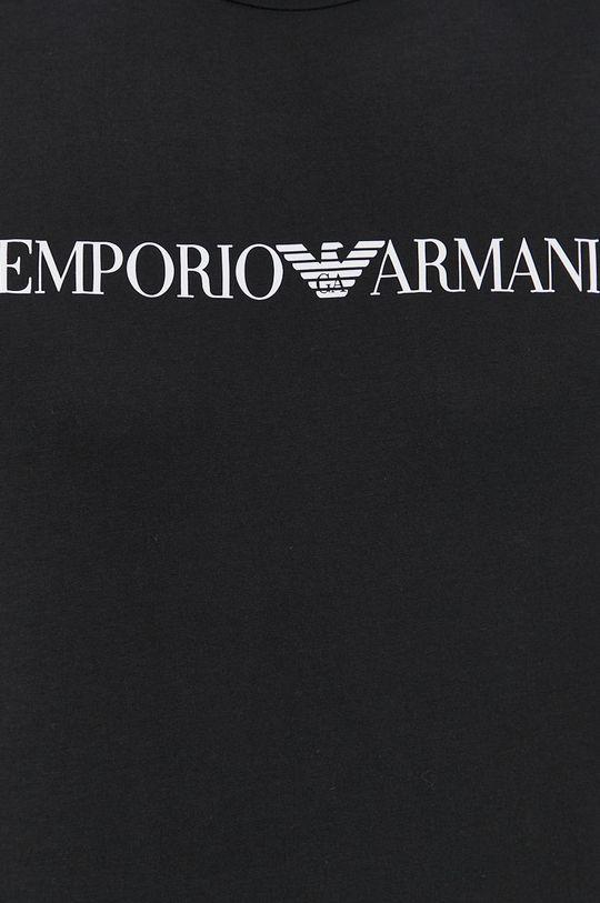 Emporio Armani - T-shirt bawełniany Męski
