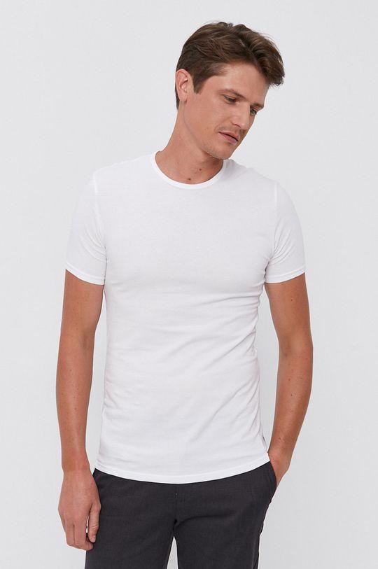 bílá Calvin Klein - Tričko (2-pack) Pánský