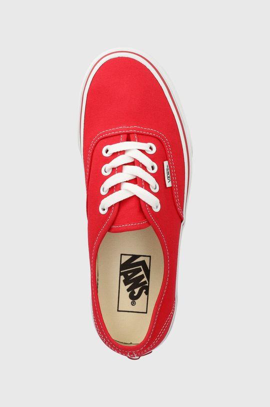 czerwony Vans - Tenisówki Authentic