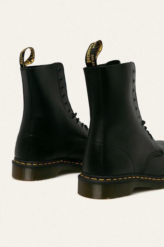 Dr Martens - Kotníkové boty 10105001  Svršek: Přírodní kůže Vnitřek: Textilní materiál, Přírodní kůže Podrážka: Umělá hmota