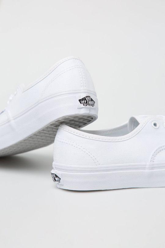 biały Vans - Tenisówki Authentic