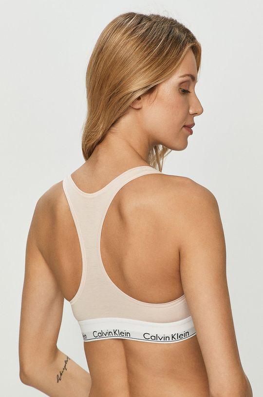Calvin Klein Underwear - Podprsenka pastelová ružová