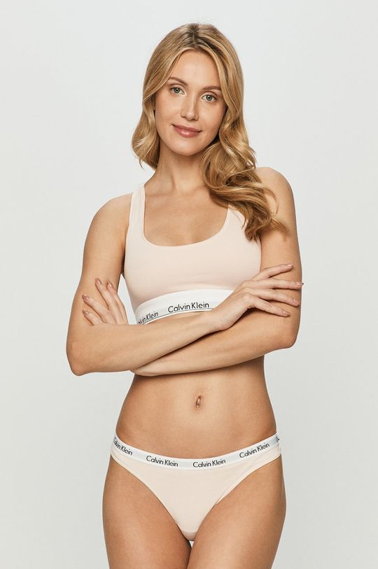 Calvin Klein Underwear - Podprsenka <p>  53% Bavlna, 12% Elastan, 35% Modal</p>