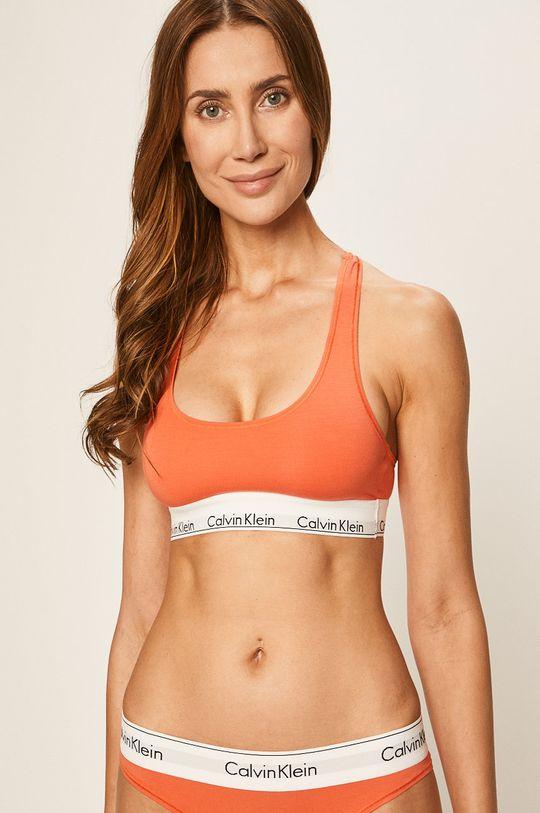 oranžová Calvin Klein Underwear - Podprsenka Bralette Dámský