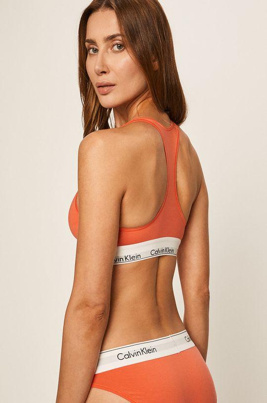 Calvin Klein Underwear - Podprsenka Bralette oranžová