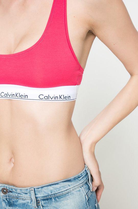 korálová Calvin Klein Underwear - Podprsenka Bralette