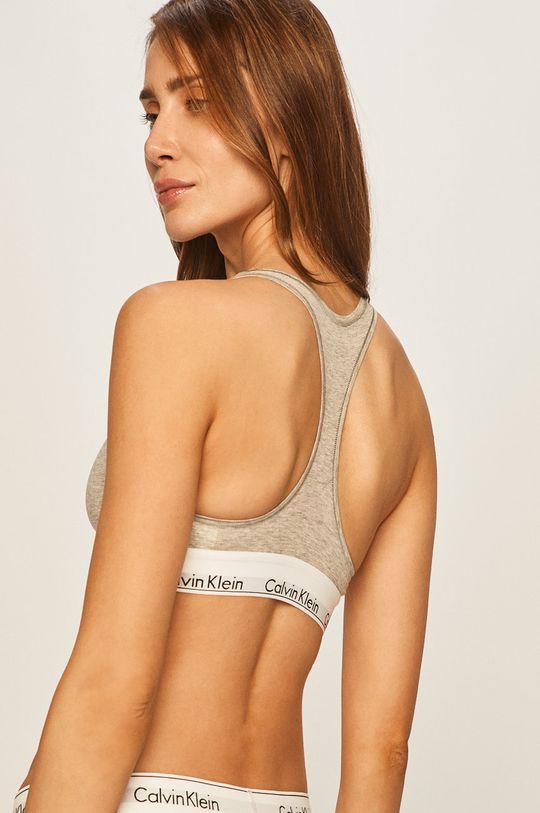 Calvin Klein Underwear - Podprsenka Bralette šedá