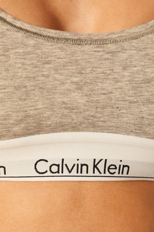 šedá Calvin Klein Underwear - Podprsenka Bralette
