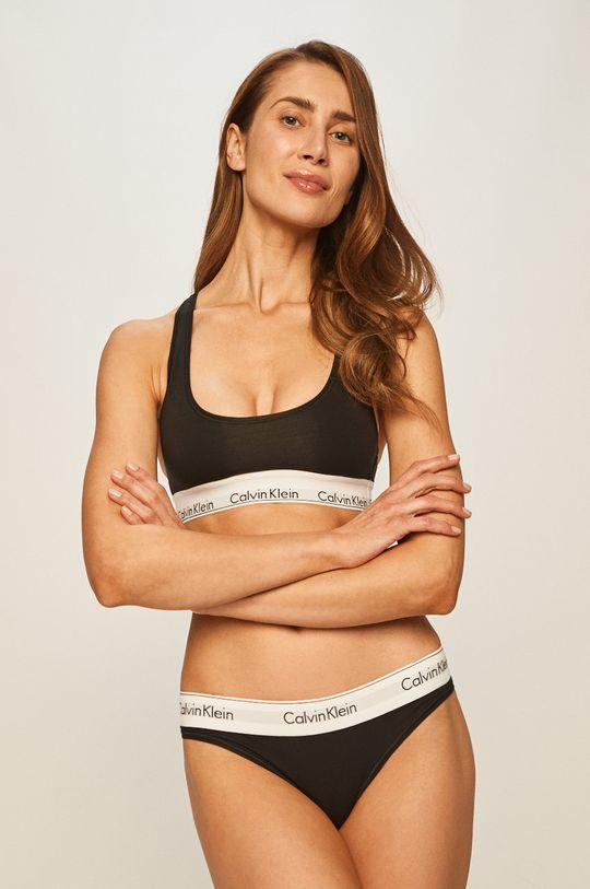 Calvin Klein Underwear - Podprsenka Bralette <p>  53% Bavlna, 12% Elastan, 35% Modal</p>