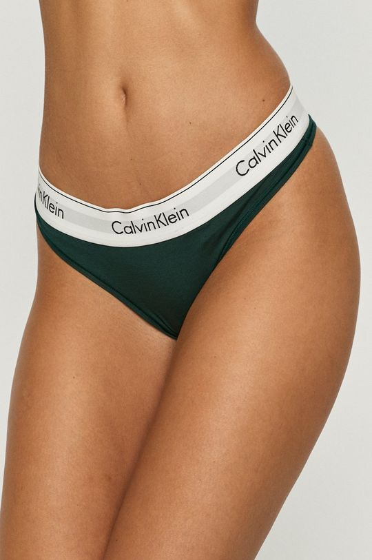 zielony Calvin Klein Underwear - Stringi Damski
