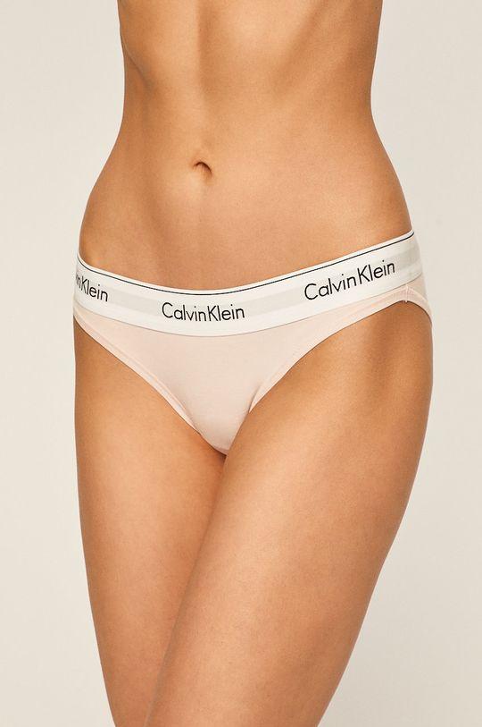 pastelově růžová Calvin Klein Underwear - Kalhotky Bikini Dámský