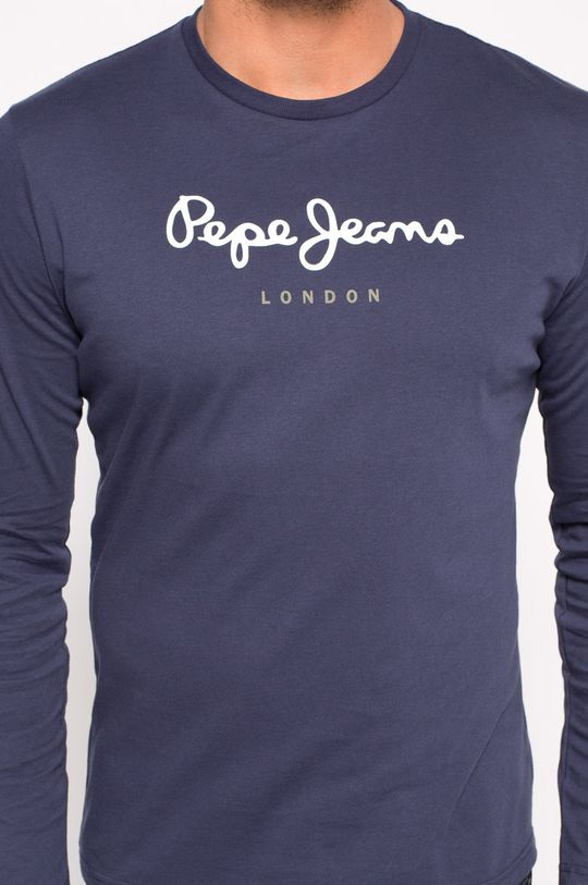 námořnická modř Pepe Jeans - Tričko s dlouhým rukávem