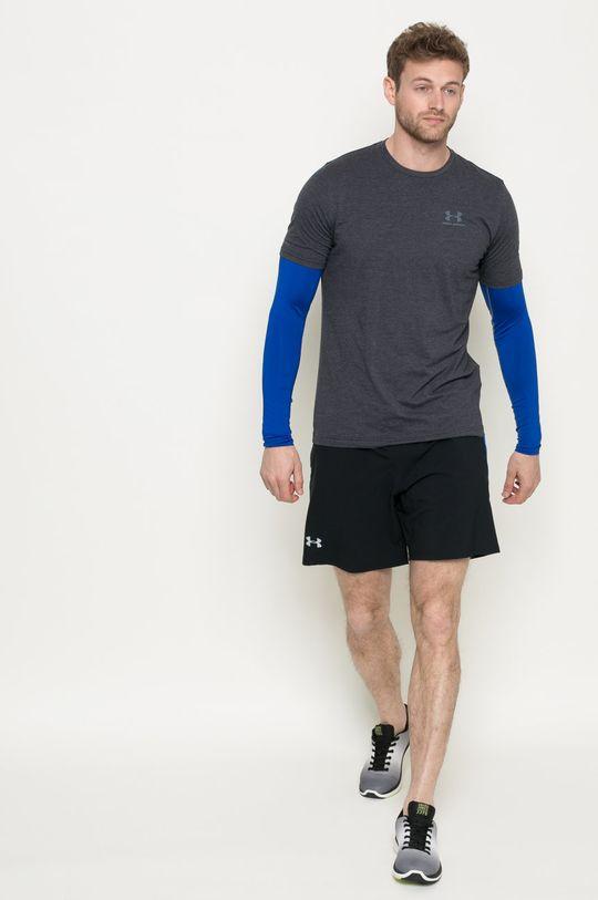 Under Armour - Longsleeve HeatGear Armour Long Sleeve Compression Shirt niebieski