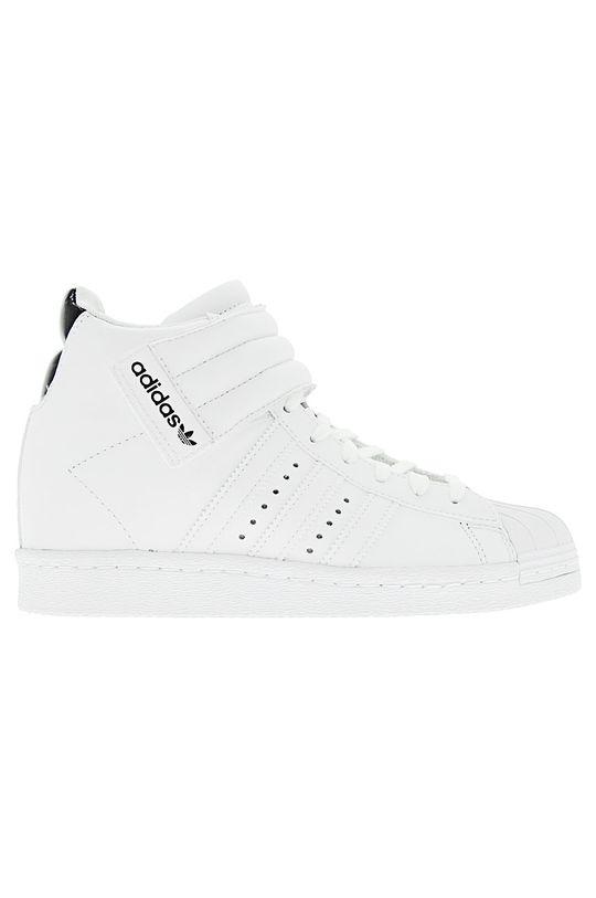 biela adidas Originals - Topánky Superstar UP Strap W Dámsky