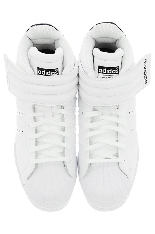 adidas Originals - Topánky Superstar UP Strap W biela