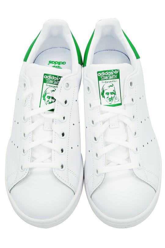 adidas Originals - Шкіряні черевики Stan Smith білий