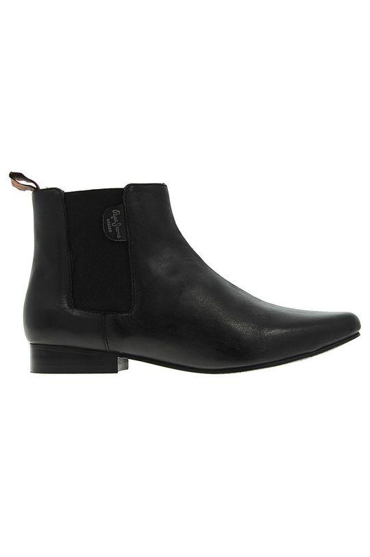 černá Pepe Jeans - Boty s gumou Dámský