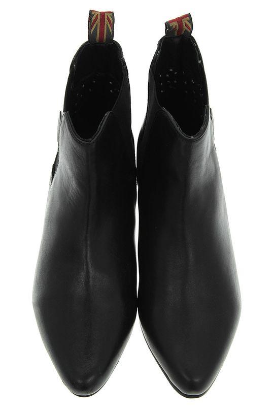 Pepe Jeans - Boty s gumou černá
