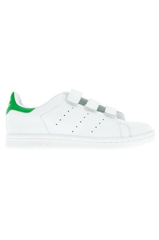 білий adidas Originals - Дитячі черевики Stan Smith CF C Дитячий